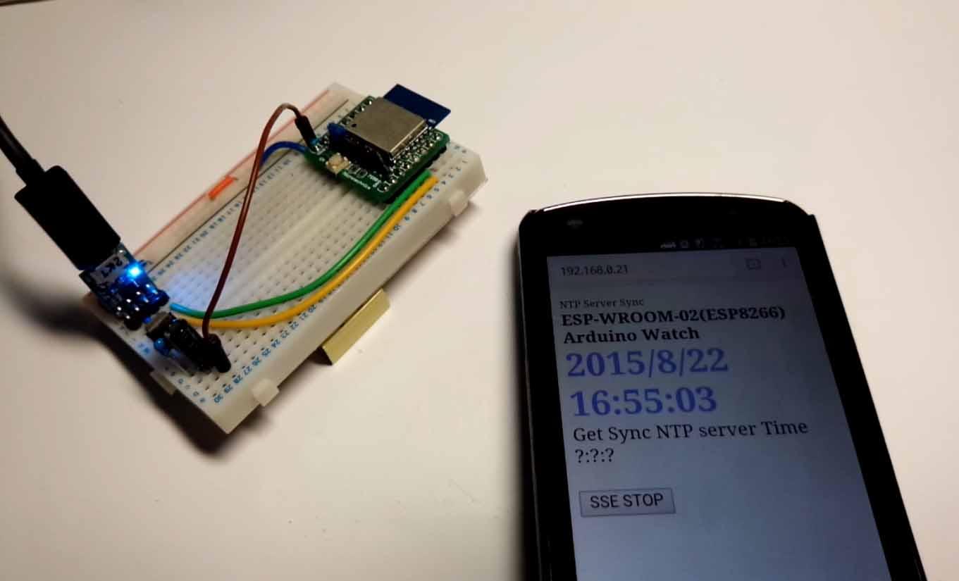 WROOM 単体に Arduino スケッチで Wi-Fi ストリーミング