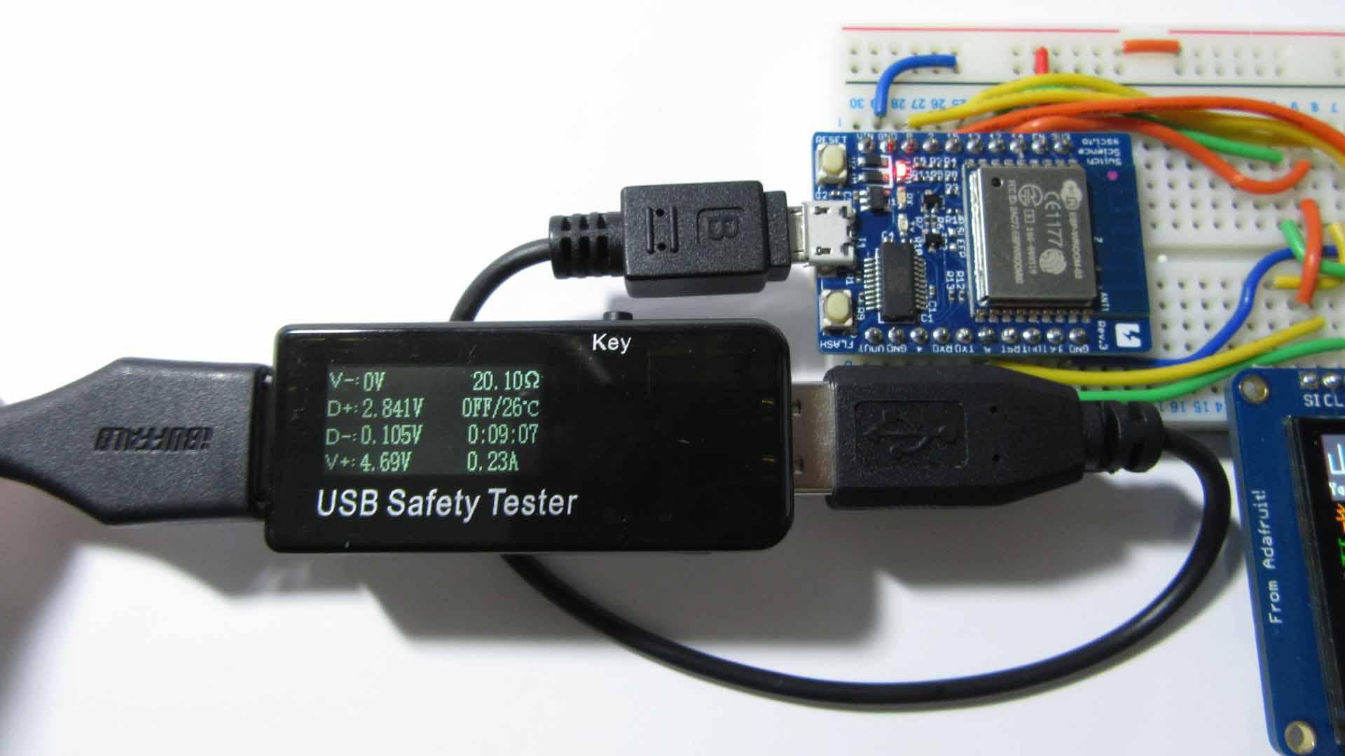 USB Safety Tester ( 電圧 電流 チェッカー ) をレビューしてみました