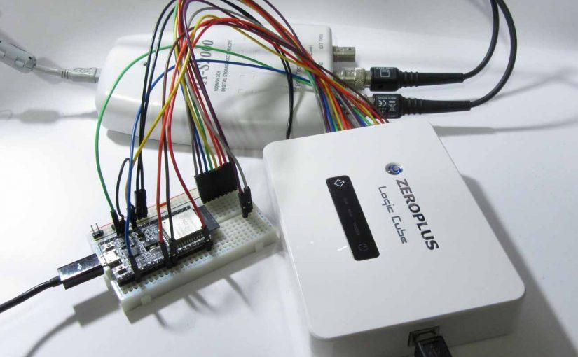 ESP32 の SPI_MODE が修正。HSPI , VSPI , 複数SPIデバイス制御 , SPI高速化などについて