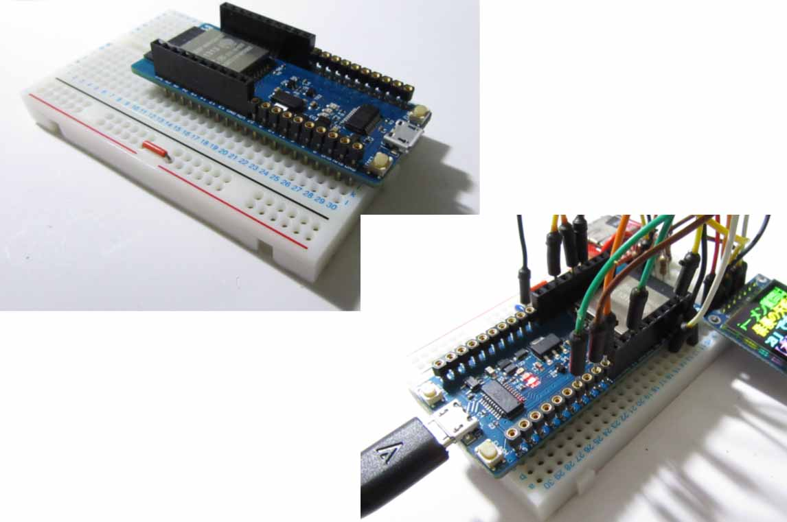 ESPr Developer 32 ( スイッチサイエンス製 ) を使ってみました