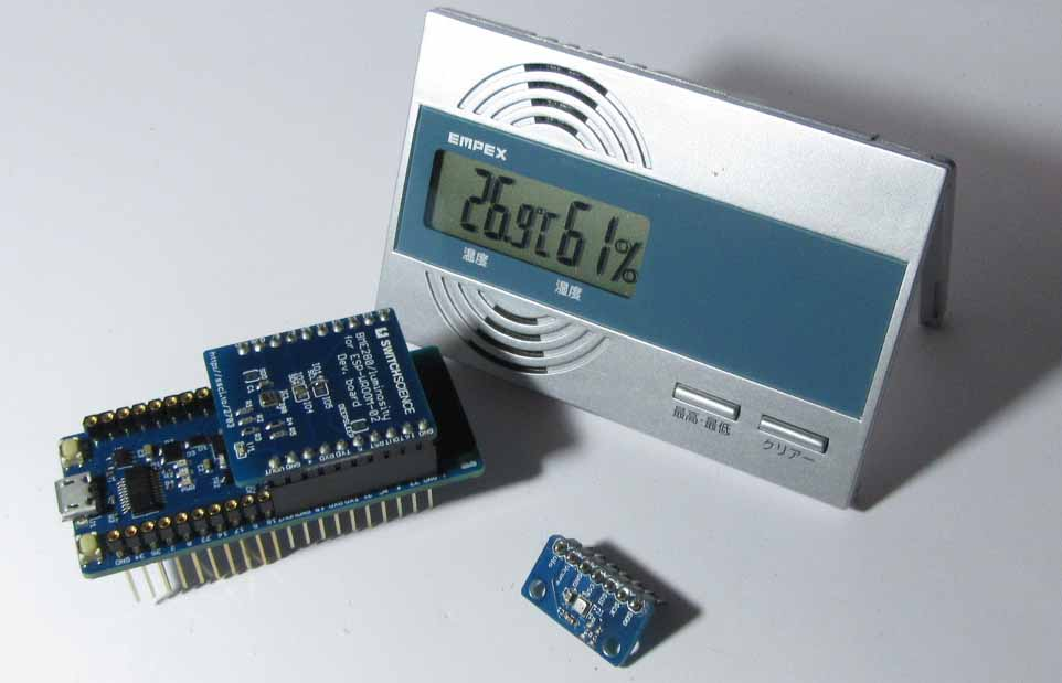 ESP32 用 BME280 ( 温度 湿度 気圧センサー ) ライブラリを作ってみた