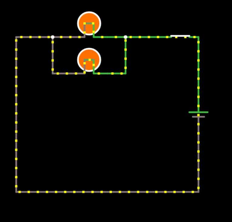 Circuit Simulator 電球並列テスト