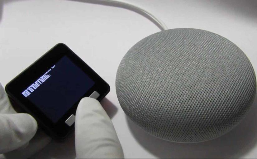 ESP32 および M5Stack で Google Home を自発的に喋らせる実験 | mgo-tec
