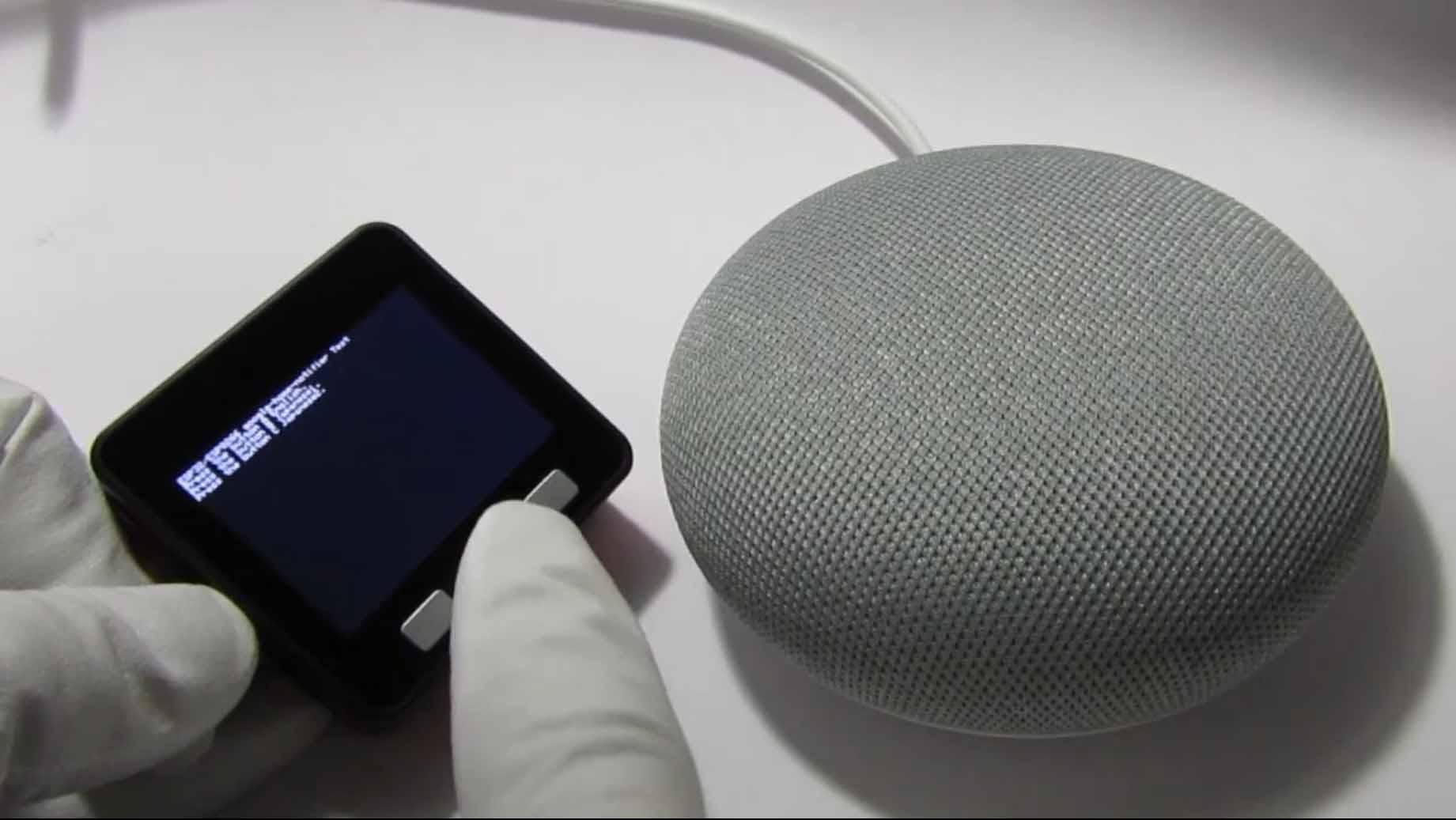 ESP32 および M5Stack で Google Home を自発的に喋らせる実験