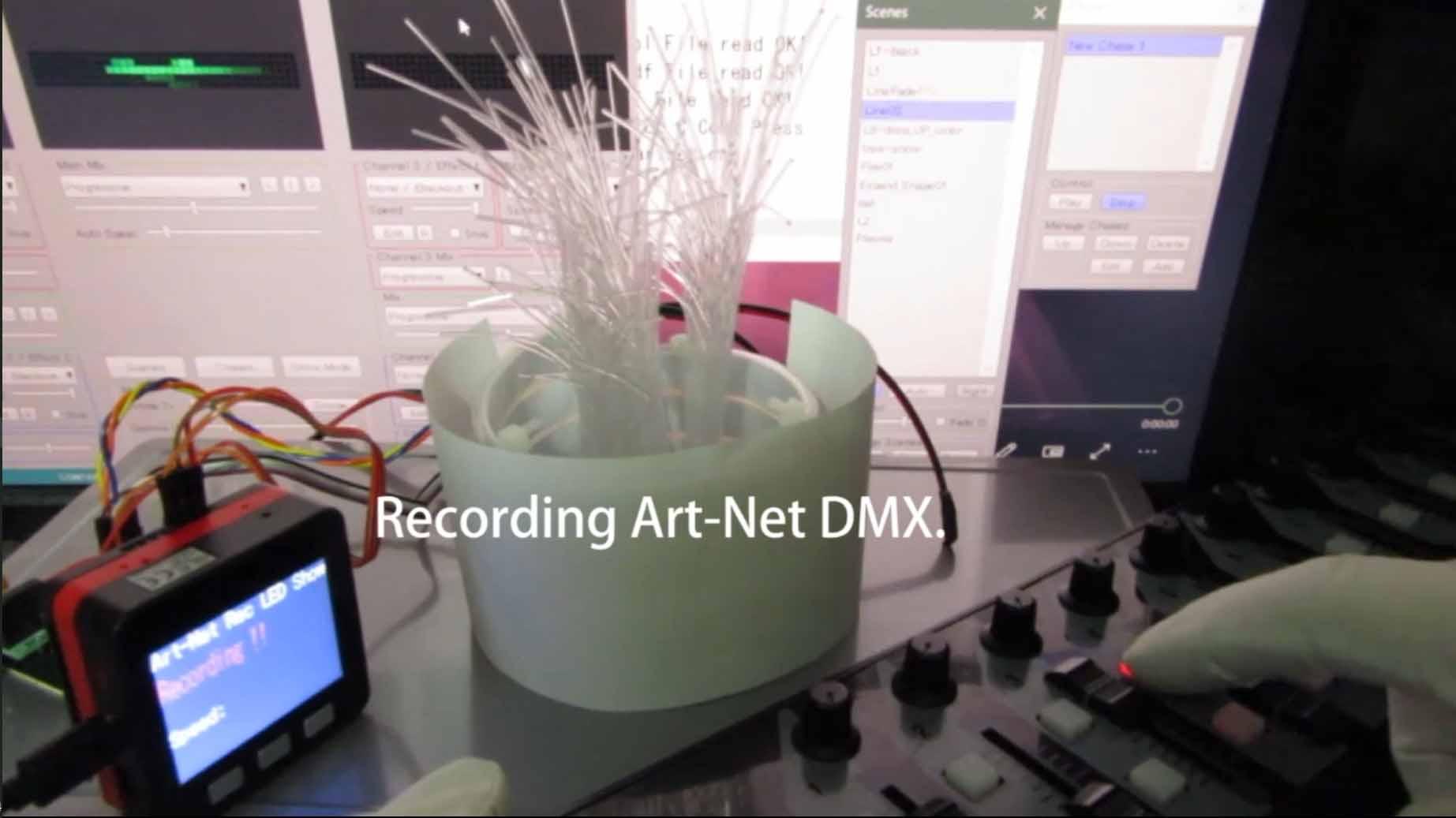 M5Stack で Art-Net micro SD レコーダー、プレーヤーを即席で作ってみた