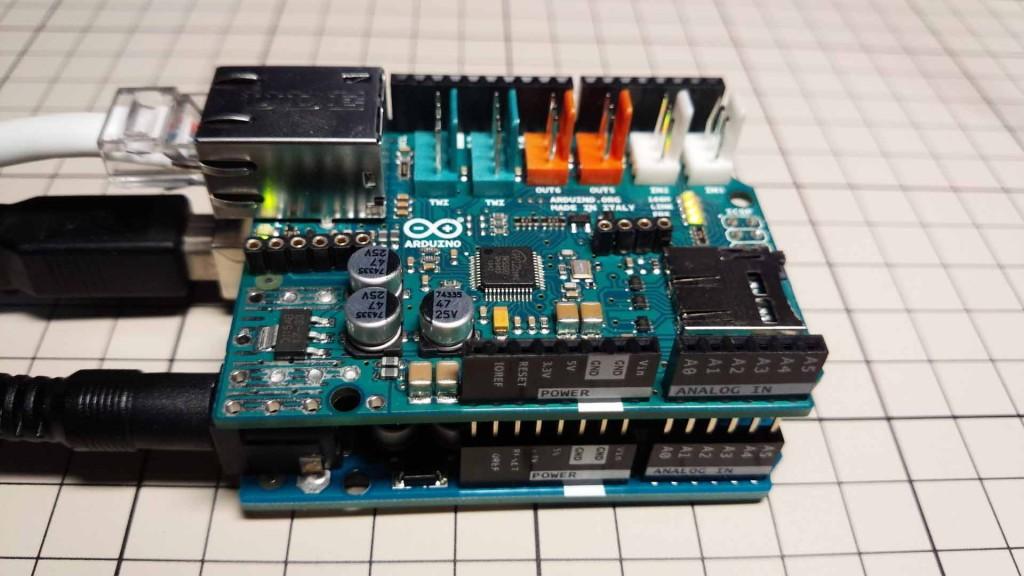 Arduino Ethernet シールド(shield)2