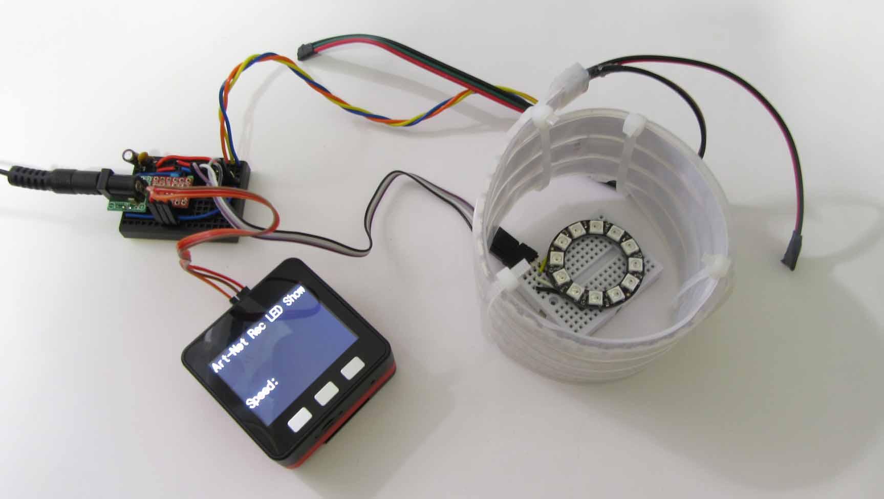 Artnet Arduino