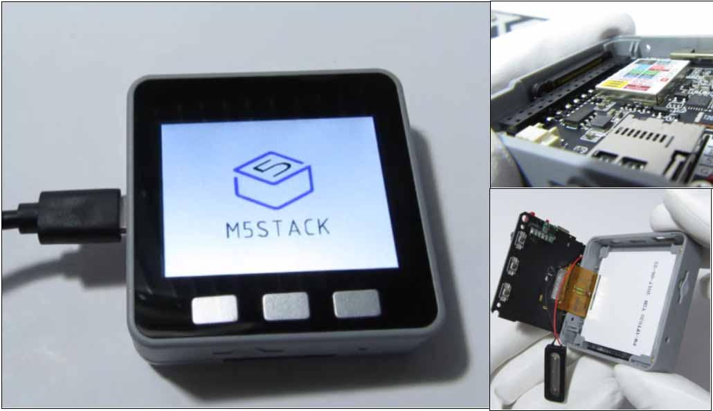 M5Stackを分解したり電源を入れてみて、いろいろ思ったこと