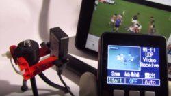 M5Cameraの動画をM5StackへWiFi, UDP送信する実験