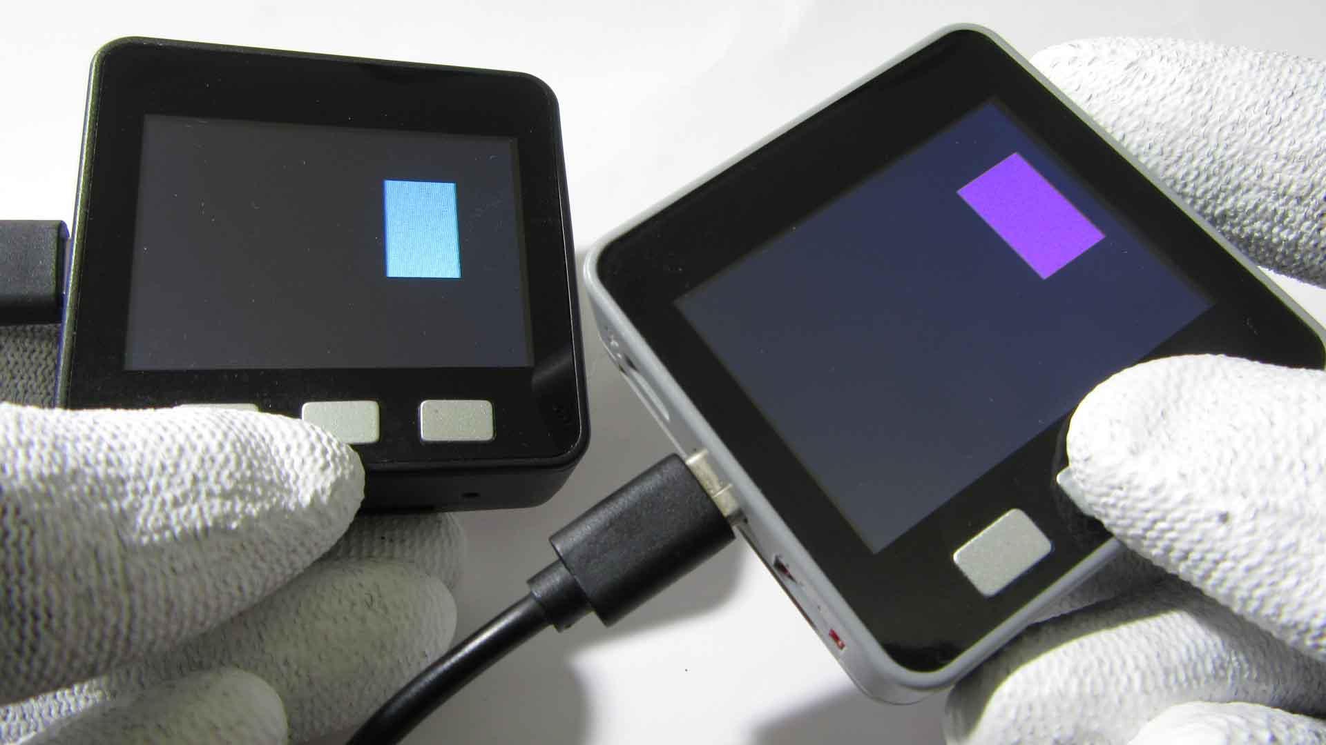 M5Stack同士でWiFi, UDPによる双方向リアルタイム同時通信する実験